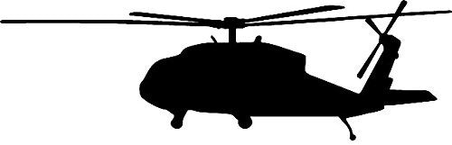 Helicopter Military  Vinyl Car/Laptop/Window/Wall Decal - MyMonkeySticker.com