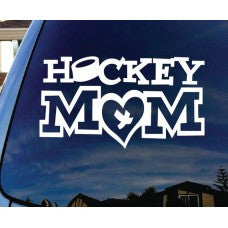 Hockey Mom Car Window Vinyl Decal Tablet PC Sticker - MyMonkeySticker.com