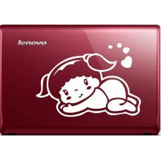 I Love You Automobile Decal Car Window Decal Notebook Macbook Tablet PC Computer Automobile Window Wall Laptop Notebook Ipad cell phone - MyMonkeySticker.com