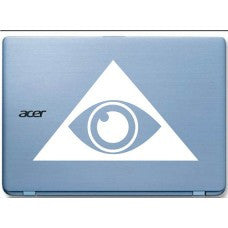 Illuminati Eye Automobile Car Window Decal Tablet PC Sticker Automobile Window Wall Laptop Notebook Etc. - MyMonkeySticker.com