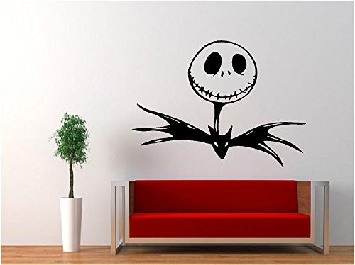 Jack Skellington - Nightmare Before Christmas Decal Sticker for Window Wall Car Truck Room - MyMonkeySticker.com
