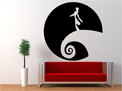 Jack Skellington - Nightmare Before Christmas Decal Sticker for Window Wall Room Car - MyMonkeySticker.com