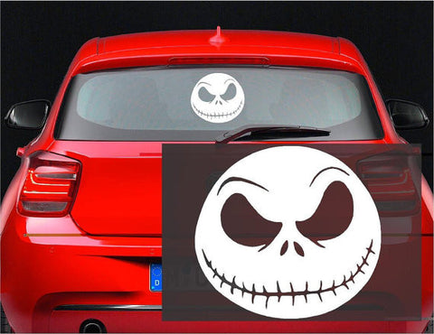 Jack Skellington - Nightmare Before Hallowee Christmas Decal Sticker for Window Wall Car Room - MyMonkeySticker.com