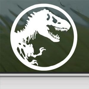 Jurassic Park Sticker Decal T-Rex Dinosaur Tyrannosaur Car Window Wall Macbook Laptop - MyMonkeySticker.com