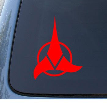 KLINGON - Star Trek - Car, Truck, Notebook, Vinyl Decal Sticker - MyMonkeySticker.com