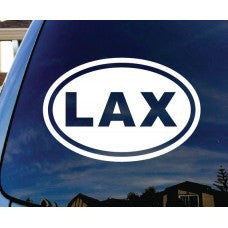 LAX Lacrosse Car Window Decal Automobile Tablet Decal Tablet PC Sticker Wall Laptop mobile truck Computer Notebook macbook Iphone Ipad - MyMonkeySticker.com