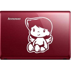 Little Angel Car Window Decal Tablet PC Sticker Automobile Mobile Cellphone Truck Bumper Window Wall Laptop Notebook Etc. Any Smooth Surface - MyMonkeySticker.com