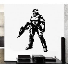 MASTER CHIEF Halo Xbox 360 Decal Sticker Vinyl car Window Wall Video Game Laptop - MyMonkeySticker.com
