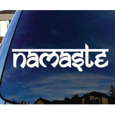 Namaste Tibet Buddha Car Window Decal Automobile Tablet Decal Tablet PC Sticker Wall Laptop mobile truck Notebook macbook Iphone Ipad - MyMonkeySticker.com