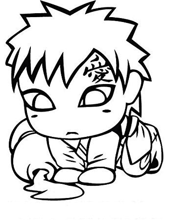 Naruto Anime baby Tokio Vinyl Decal Sticker Logo Symbol for Wall Car Window Laptop Die Cut - MyMonkeySticker.com