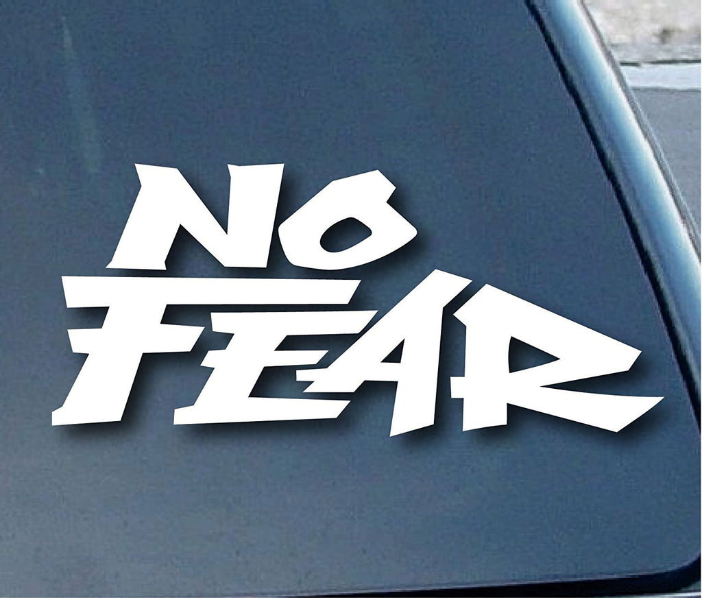 No Fear Logo Vinyl Sticker Decal Car Truck Windon Wall Laptop notebook - MyMonkeySticker.com