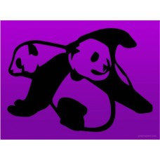 PANDA BEARS Car Window Vinyl Decal Tablet PC Sticker - MyMonkeySticker.com