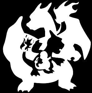 Pokemon Charizard  Vinyl Car/Laptop/Window/Wall Decal - MyMonkeySticker.com