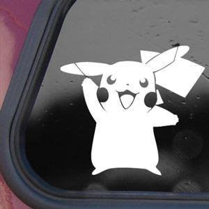 Pokemon Pikachu Game Anime Logo Cartoon Decal Sticker Vinyl Decorative for Wall Car Ipad Macbook Laptop - MyMonkeySticker.com
