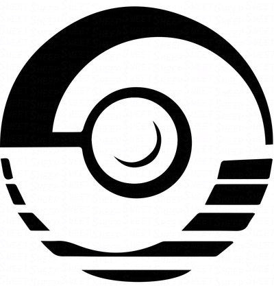 Professor Program Pokeball Pokemon  Vinyl Car/Laptop/Window/Wall Decal - MyMonkeySticker.com