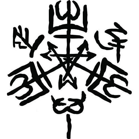 Purgatorio Sigil Symbol Supernatural Angel Vinyl Sticker Decal for Car Laptop Windows - MyMonkeySticker.com