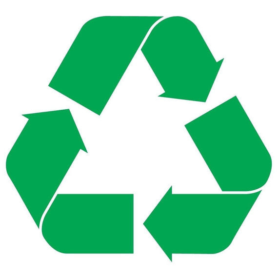 Recycle Logo Vinyl Sticker Decal JDM Earth Environment for Car Window - MyMonkeySticker.com