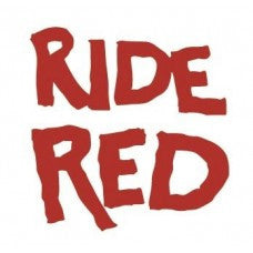 Ride Red Car Window Vinyl Decal Tablet PC Sticker - MyMonkeySticker.com
