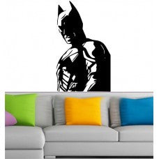 SUPERHERO CAR WINDOW Batman Wall Vinyl Decals Dark Knight Sticker Comics Art Decor - MyMonkeySticker.com