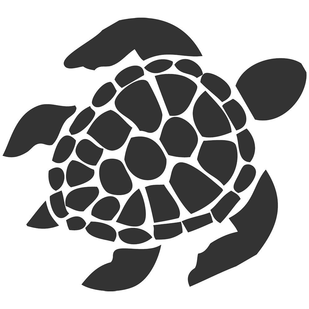 Sea Turtle Car Window Vinyl Decal Sticker - MyMonkeySticker.com