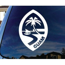 Seal of Guam Automobile Tablet Decal Tablet PC Sticker Wall Laptop mobile truck Notebook macbook Iphone Ipad Car Window Decal - MyMonkeySticker.com