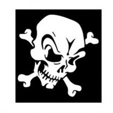 Skull of Terror Automobile Tablet Decal Tablet PC Sticker Wall Laptop mobile truck Notebook macbook Iphone Ipad Car Window Decal - MyMonkeySticker.com
