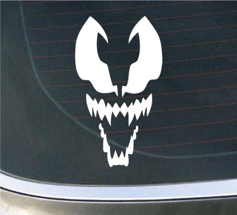 Spiderman Venom Face logo Vinyl Decal Sticker Car Window Wall Bumper Phone Laptop - MyMonkeySticker.com
