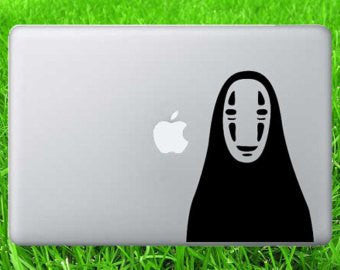 Spirited Away Mask Decal Sticker Vinyl Decorative for Wall Car Auto Ipad Macbook Laptop - MyMonkeySticker.com