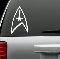 Star Trek Logo Decal Sticker for Window Car Windows Truck Room - MyMonkeySticker.com