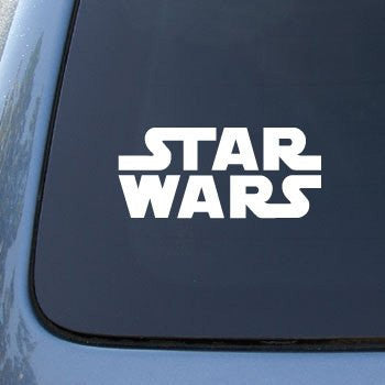 Star Wars Movie Logo Car, Truck, Notebook, Vinyl Decal Sticker - MyMonkeySticker.com