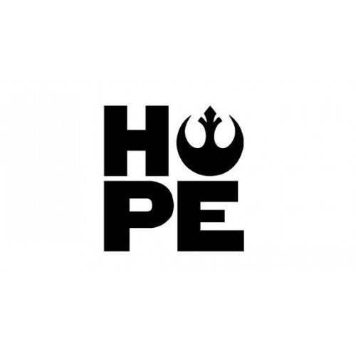 Star Wars Rebel Hope sticker Decal Man Die Cut Car Window Wall Bumper Phone Laptop - MyMonkeySticker.com