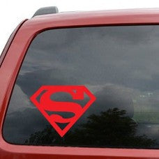 Superman Decal Sticker for Car Window, Laptop wall - MyMonkeySticker.com