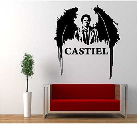 Supernatural Anti Possession Castiel Angel Decal Sticker Catholic Voodoo Demons for Car Windows Room - MyMonkeySticker.com