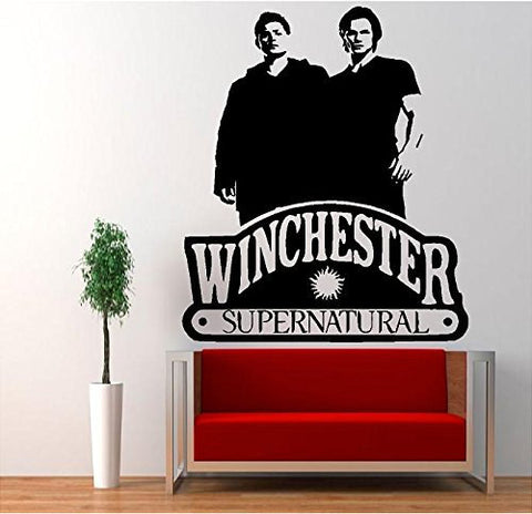 Tean Sam Dean Winchester Supernatural Vinyl Decal Sticker Pentagram Anti Possession - MyMonkeySticker.com