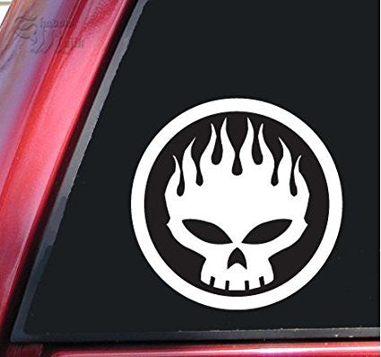 The Offspring Car Window Ipad Tableet PC Notebook Cumputer Decal Sticker - MyMonkeySticker.com