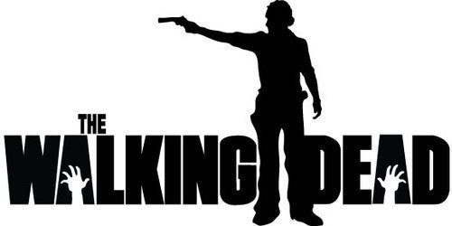 The Walking Dead Rick Grimes Gun Logo Vinyl Sticker Decal For Car Windows Laptop - MyMonkeySticker.com