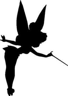 Tinkerbell Peter Pan Vinyl Car/Laptop/Window/Wall Decal - MyMonkeySticker.com