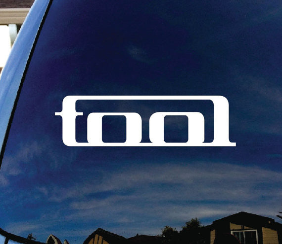 Tool Band Car Window Vinyl Decal Sticker - MyMonkeySticker.com