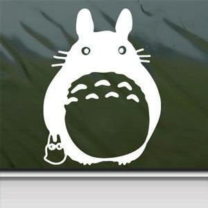 Totoro Anime Sticker Decal Ghibli Laputa Jdm Car Window Wall Macbook Notebook Laptop - MyMonkeySticker.com