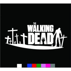 WALKING DEAD zombies Blood Anime Resident Evil season car sticker decals logo Wall room - MyMonkeySticker.com