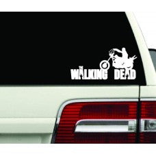 WALKING DEAD zombies Resident Evil Blood Anime door car stickers decals logo Room Wall - MyMonkeySticker.com