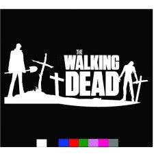 WALKING DEAD zombies blood Resident Evil season car sticker decals logo Wall Room - MyMonkeySticker.com