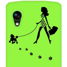 Walking with My Dog Animal Car Window Decal Automobile Tablet Decal Tablet PC Sticker Wall Laptop mobile truck Notebook macbook Iphone Ipad - MyMonkeySticker.com