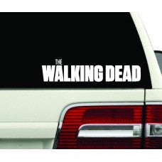 X2 WALKING DEAD logo zombies anime Resident Evil door car stickers decals Wall SEASON - MyMonkeySticker.com
