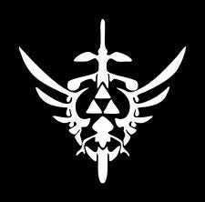 Zelda Gamer Vinyl Car Decal Window Wall - MyMonkeySticker.com
