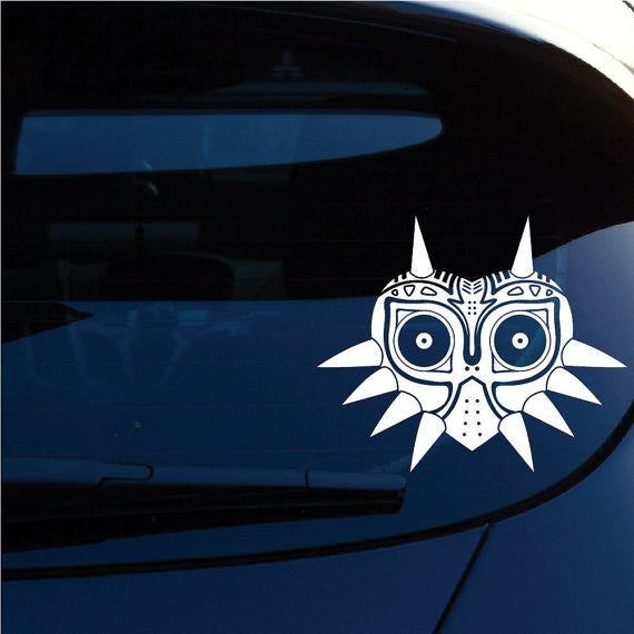Zelda Majoras Mask Skin Anime Decal Sticker Vinyl Decorative for Wall Car Auto Ipad Macbook Laptop - MyMonkeySticker.com