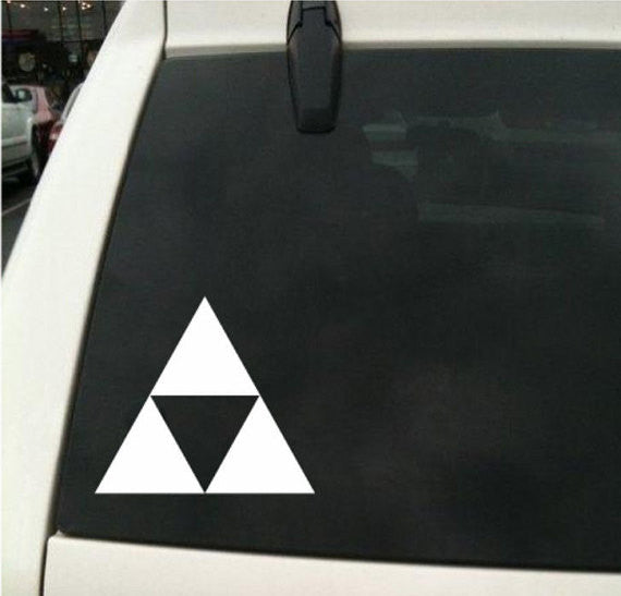 Zelda Triforce Link Logo Decal Sticker Vinyl DC Universe Comics For Car Windows - MyMonkeySticker.com
