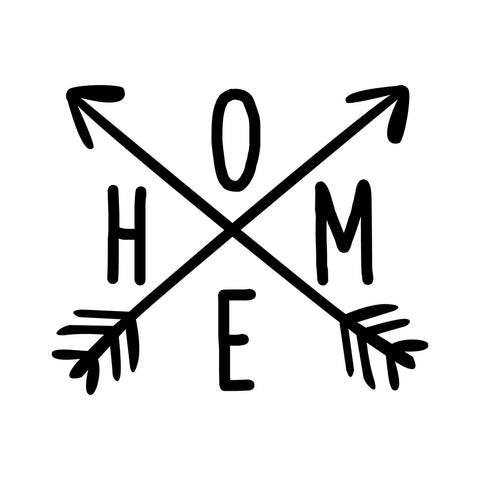 Home Vinyl Decal Sticker