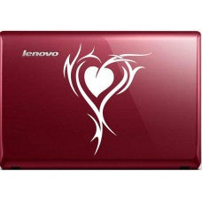 tribal heart (Style #2) Automobile Decal Car Window Decal Tablet PC Computer Automobile Window Wall Laptop Notebook Ipad cell phone - MyMonkeySticker.com