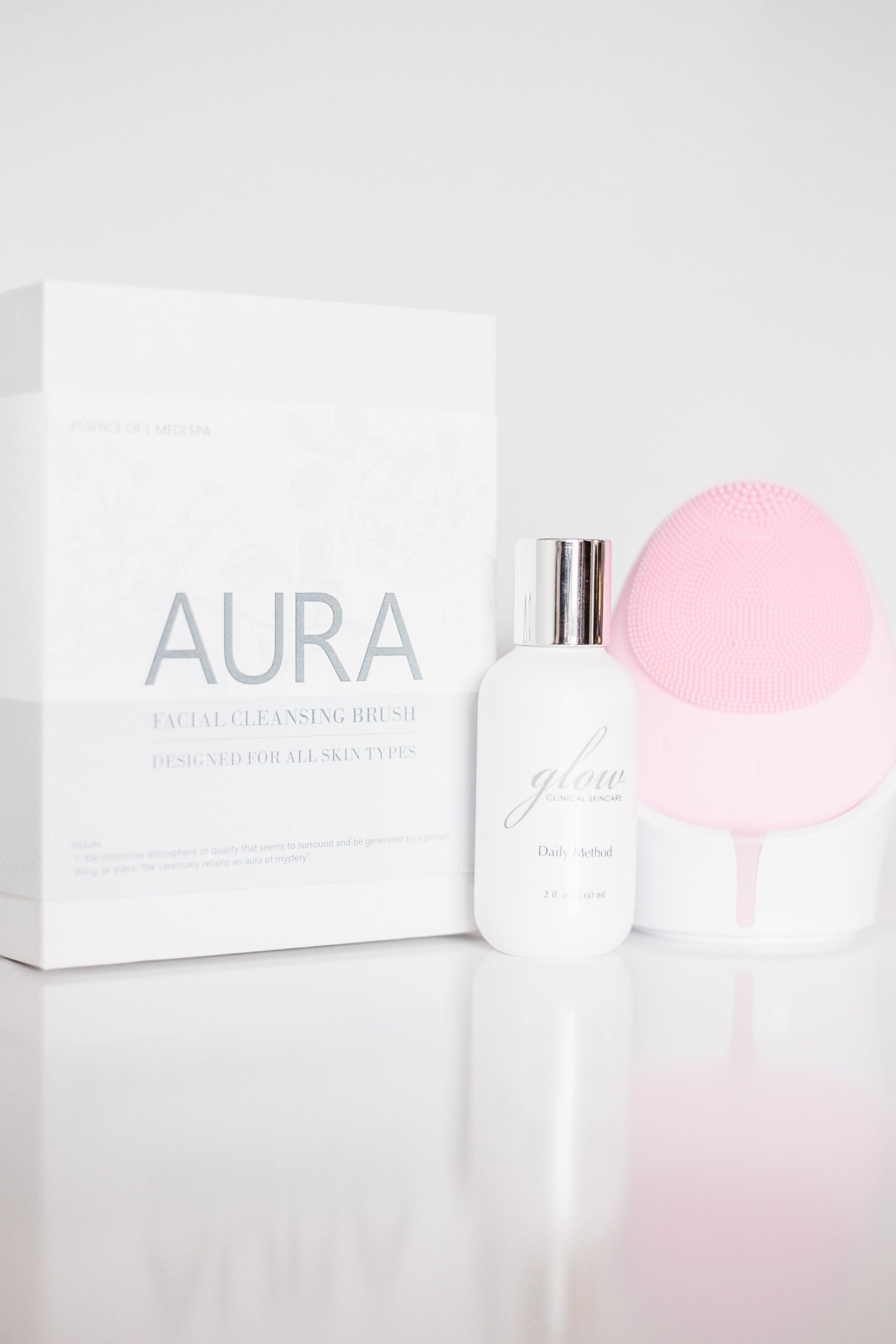 AURA Silicone Cleansing Device